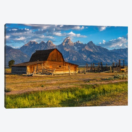 Moulton Barn Canvas Print #LNZ28} by Sergio Lanza Canvas Art Print