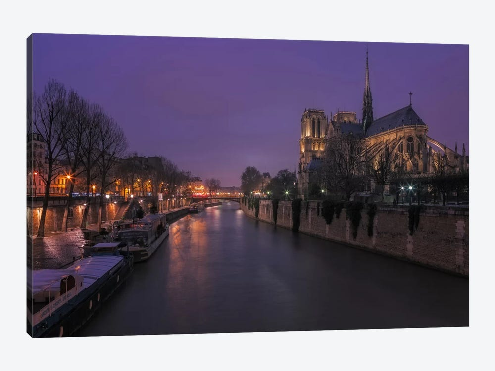 Notre Dame by Sergio Lanza 1-piece Canvas Art