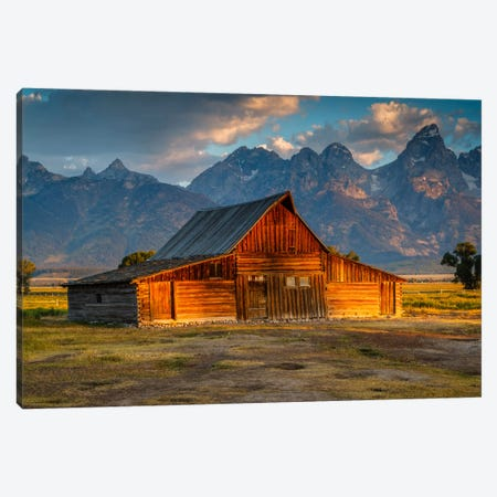 Old Barn Canvas Print #LNZ32} by Sergio Lanza Canvas Wall Art