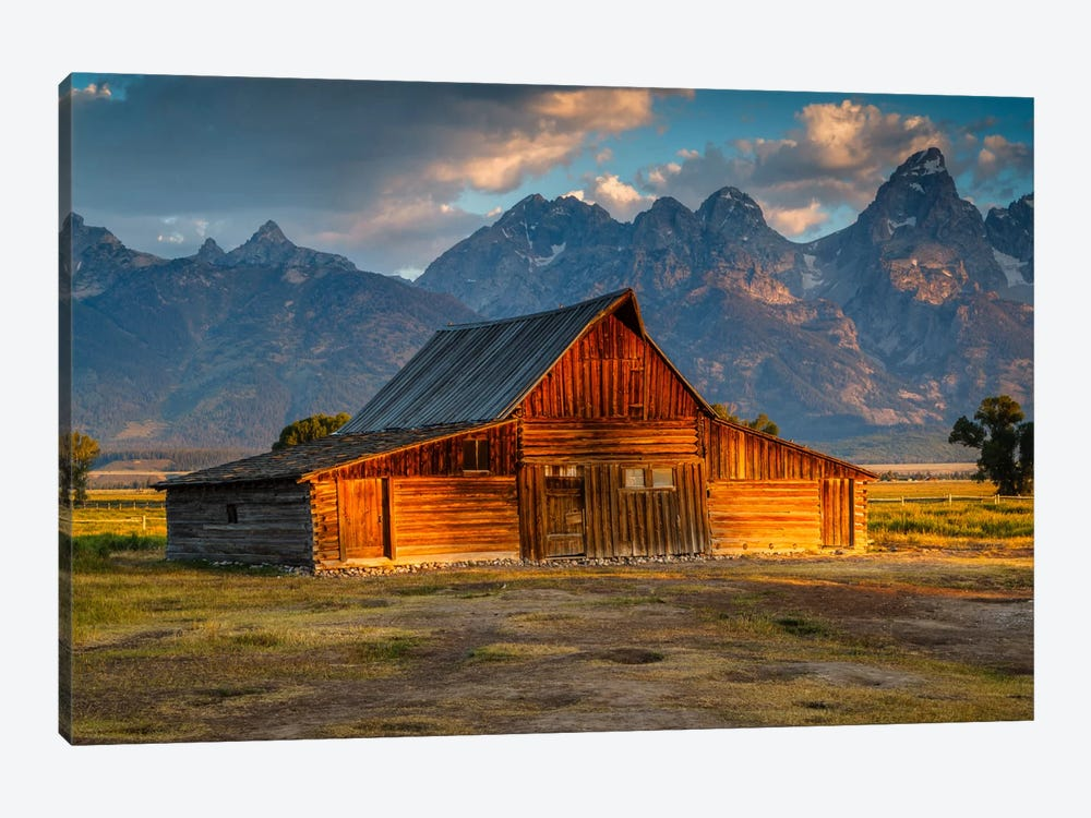 Old Barn by Sergio Lanza 1-piece Canvas Art Print