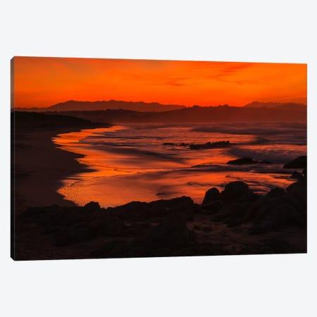 Orange Beach Canvas Print #LNZ33} by Sergio Lanza Canvas Art