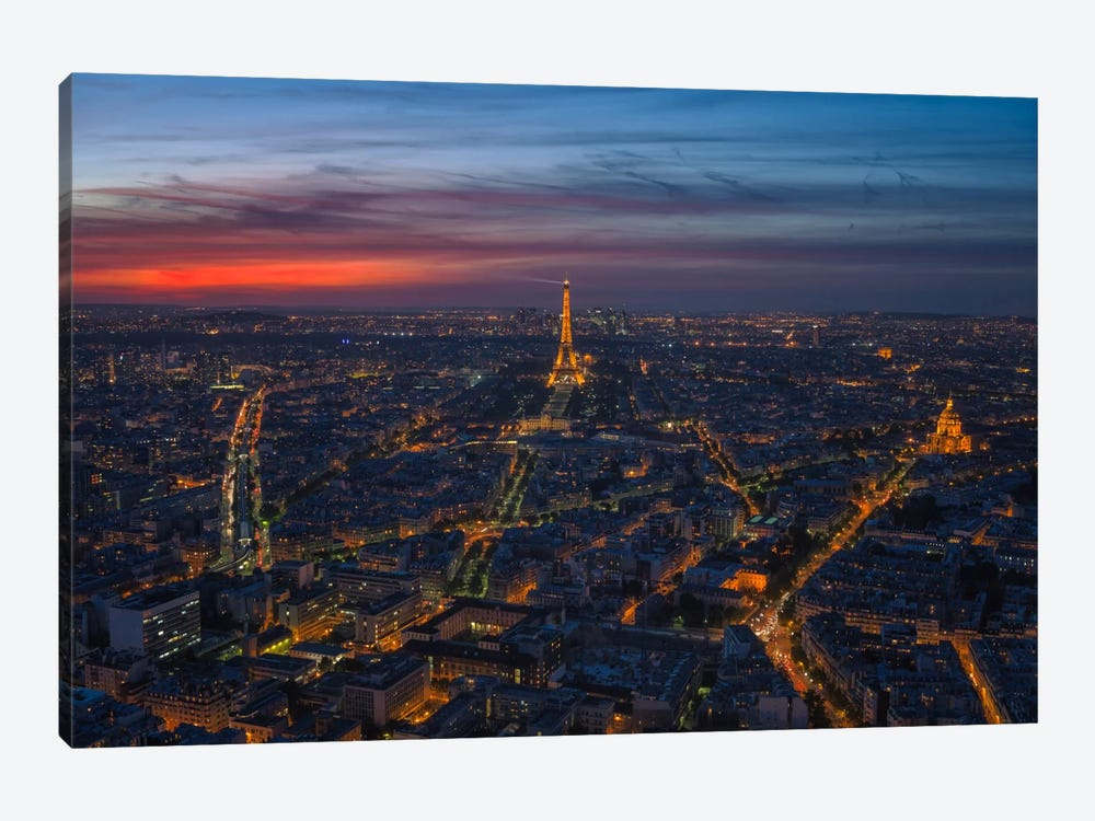 Paris Beauty by Sergio Lanza 1-piece Canvas Artwork