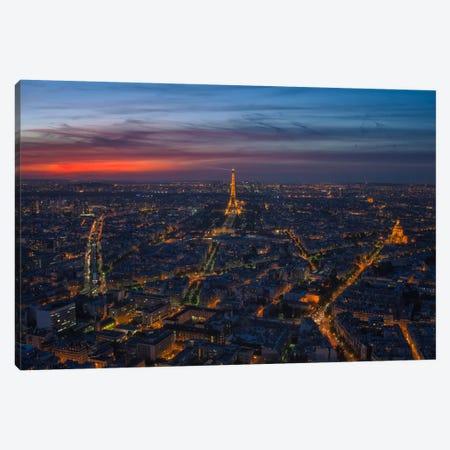 Paris Beauty Canvas Print #LNZ35} by Sergio Lanza Canvas Art Print
