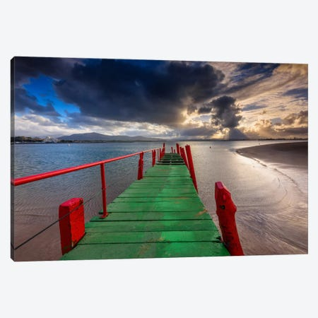 Path To The Sea Canvas Print #LNZ36} by Sergio Lanza Art Print
