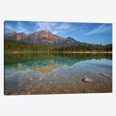 Patricia Lake Canvas Print #LNZ37} by Sergio Lanza Canvas Art Print