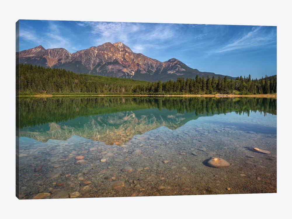 Patricia Lake by Sergio Lanza 1-piece Canvas Wall Art