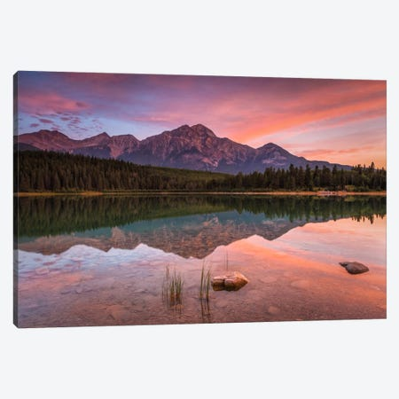Patricia Lake Glory Canvas Print #LNZ38} by Sergio Lanza Canvas Artwork