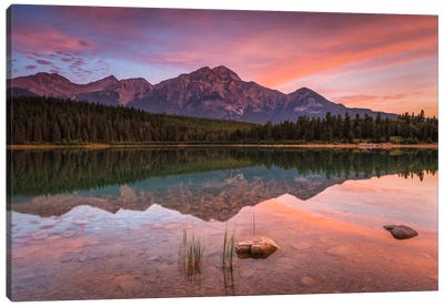 Patricia Lake Glory Canvas Art Print