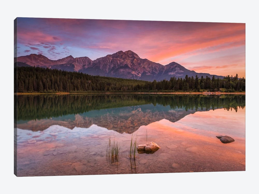 Patricia Lake Glory by Sergio Lanza 1-piece Art Print