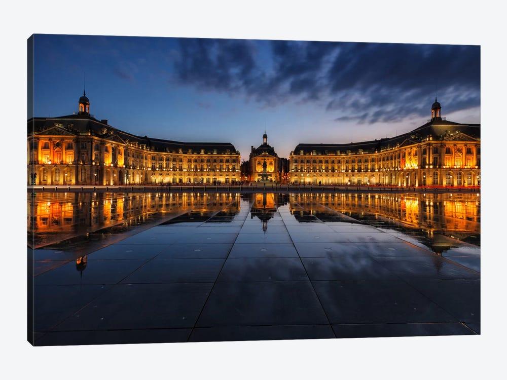 Place de la Bourse by Sergio Lanza 1-piece Canvas Artwork