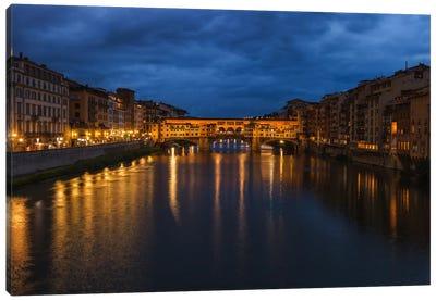 Ponte Vecchio Canvas Art Print