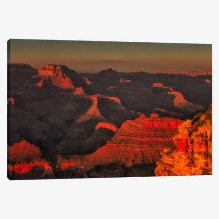Red Canyon Canvas Print #LNZ42} by Sergio Lanza Canvas Art Print