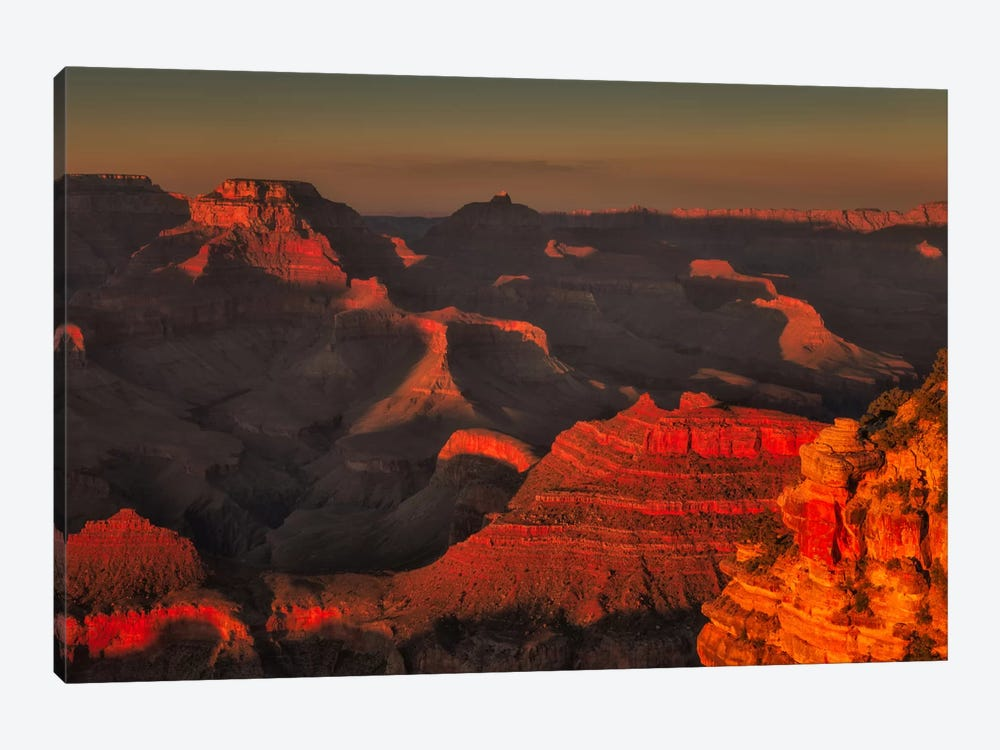 Red Canyon by Sergio Lanza 1-piece Canvas Wall Art