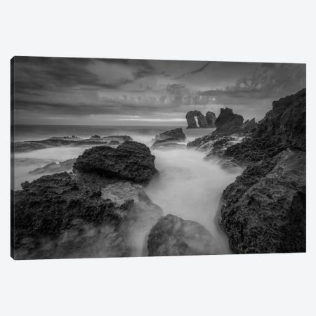 Rocky Coastline 3-Piece Canvas #LNZ45} by Sergio Lanza Canvas Art