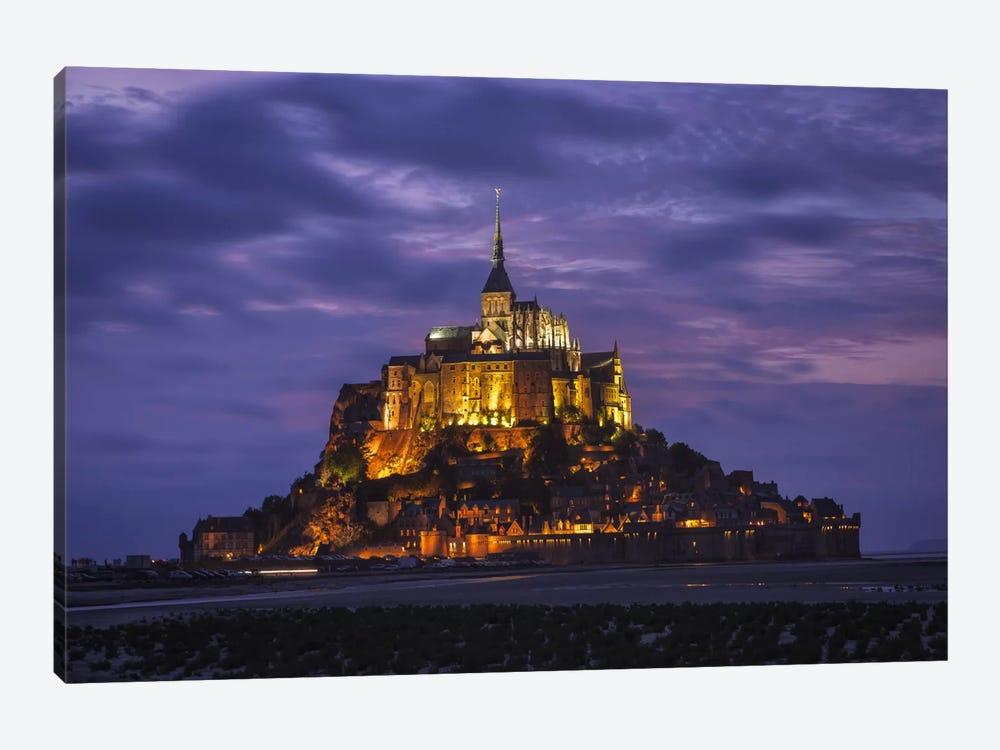 Saint Michel by Sergio Lanza 1-piece Canvas Wall Art