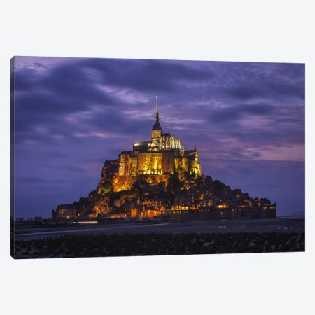 Saint Michel Canvas Print #LNZ46} by Sergio Lanza Canvas Art