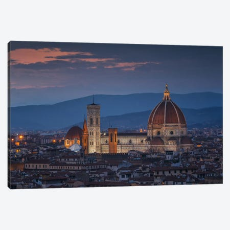 Santa Maria del Fiore Canvas Print #LNZ47} by Sergio Lanza Canvas Artwork