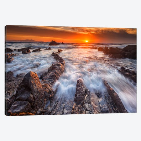Barrika Lines Canvas Print #LNZ4} by Sergio Lanza Canvas Print
