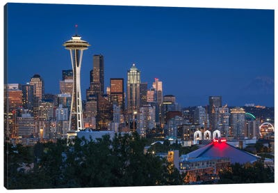 Seattle I Canvas Art Print