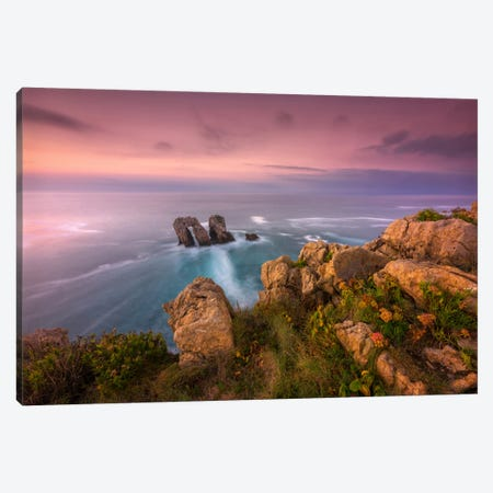 The Door Of The Sea Canvas Print #LNZ51} by Sergio Lanza Canvas Wall Art