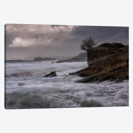The Power Of The Sea Canvas Print #LNZ54} by Sergio Lanza Canvas Print