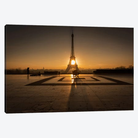 Trocadero Canvas Print #LNZ58} by Sergio Lanza Canvas Wall Art