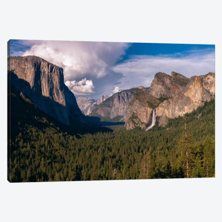 Tunnel View Canvas Print #LNZ59} by Sergio Lanza Canvas Art
