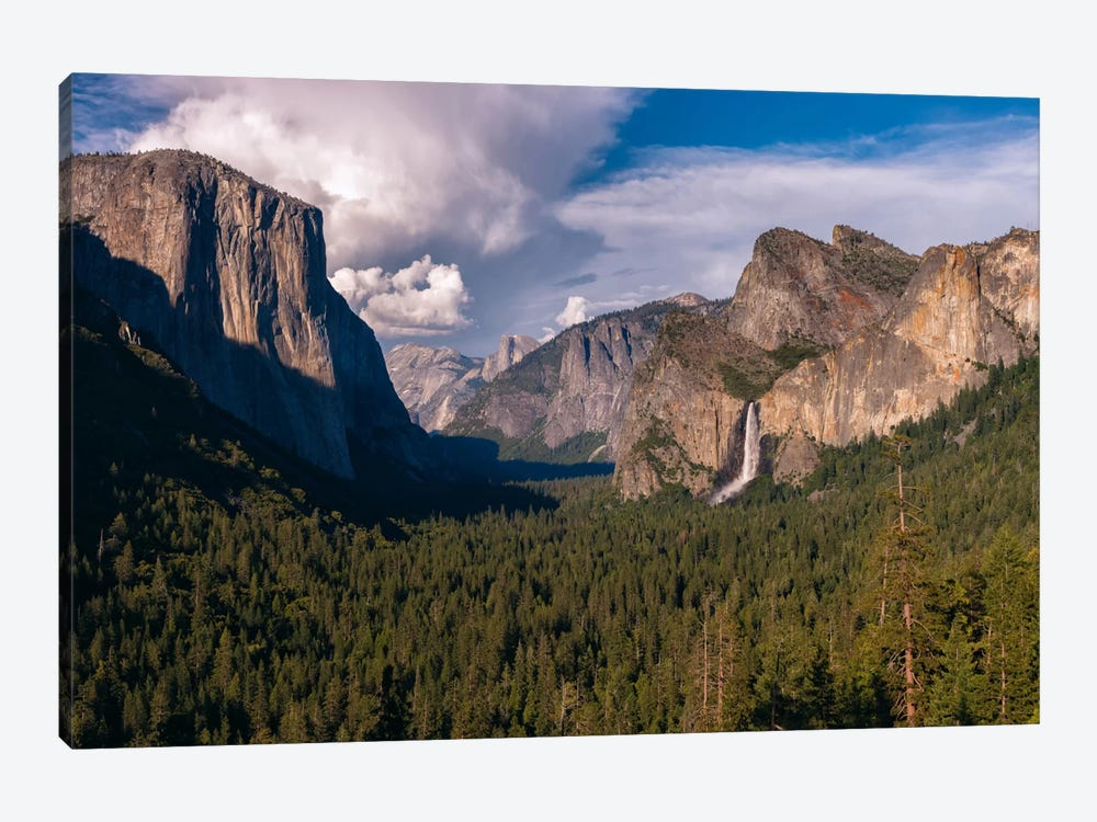 Tunnel View by Sergio Lanza 1-piece Canvas Artwork