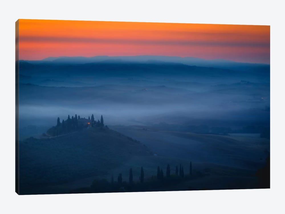 Val d'Orcia by Sergio Lanza 1-piece Canvas Art Print