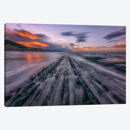 Zumaia Canvas Print #LNZ66} by Sergio Lanza Canvas Wall Art