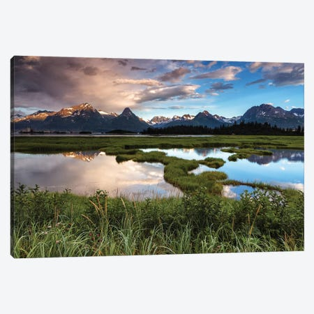 Alaskan Views Canvas Print #LNZ68} by Sergio Lanza Canvas Print