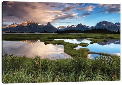Alaskan Views Canvas Art Print