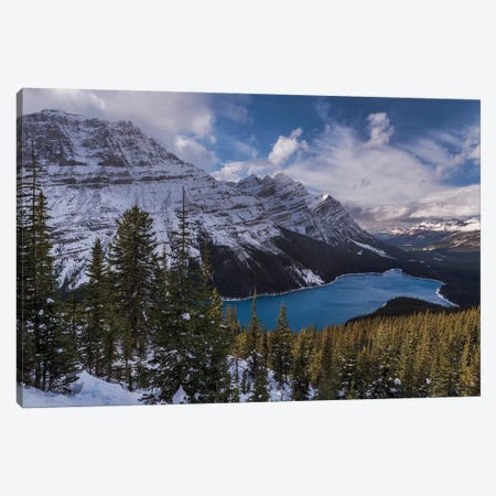 Beautiful Peyto Canvas Print #LNZ79} by Sergio Lanza Canvas Wall Art