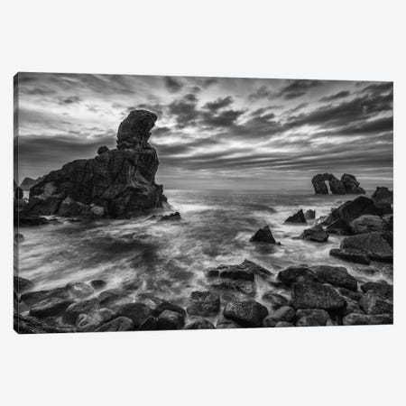 Broken Coast Canvas Print #LNZ7} by Sergio Lanza Art Print