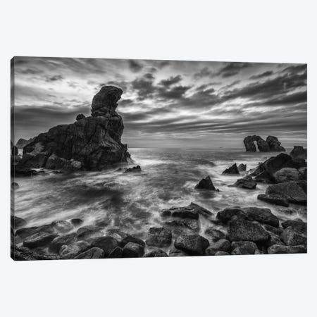 Broken Coast Canvas Print #LNZ7} by Sergio Lanza Art Print