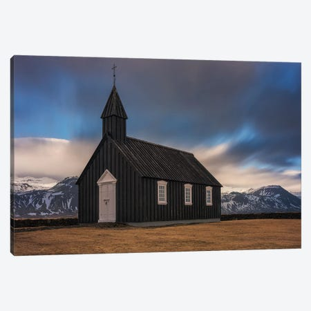 Black Church Canvas Print #LNZ82} by Sergio Lanza Canvas Print