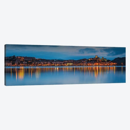 Blue Vincent Canvas Print #LNZ87} by Sergio Lanza Canvas Artwork