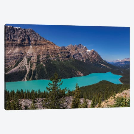 Bow Summit Canvas Print #LNZ89} by Sergio Lanza Canvas Art Print