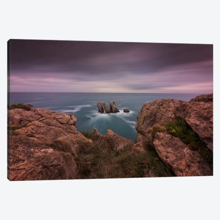 Cliffs Of Light Canvas Print #LNZ8} by Sergio Lanza Canvas Wall Art
