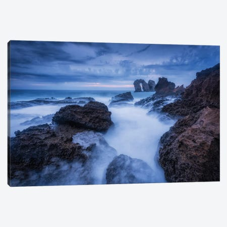 Broken Coast Canvas Print #LNZ90} by Sergio Lanza Canvas Artwork
