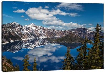 Crater Lake Canvas Print #LNZ9