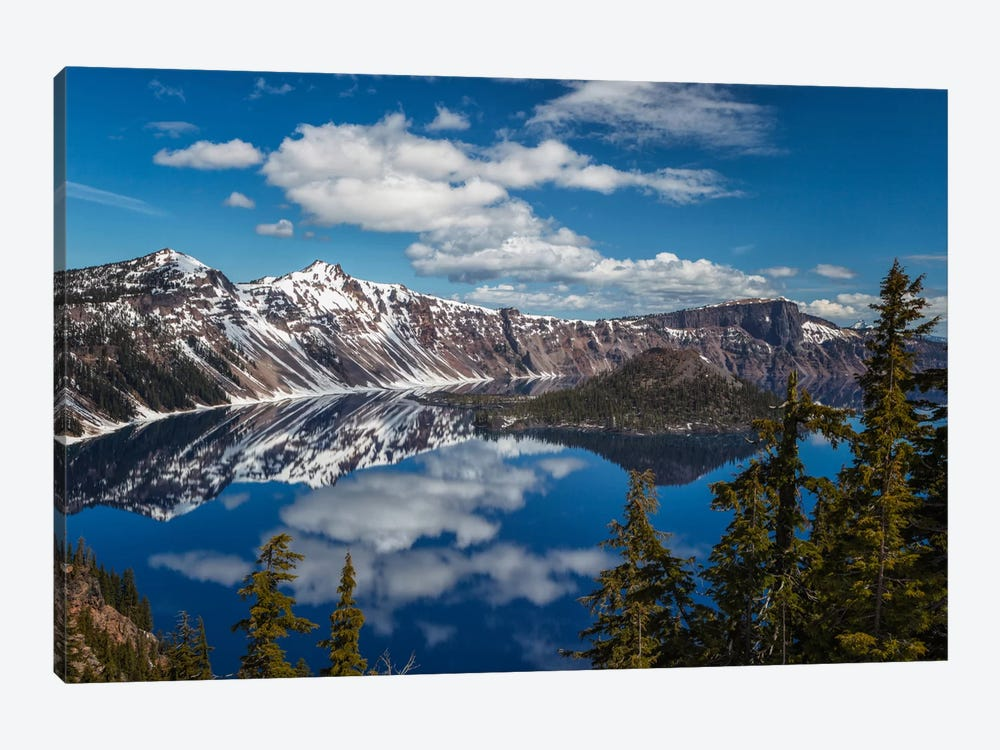 Crater Lake by Sergio Lanza 1-piece Canvas Art