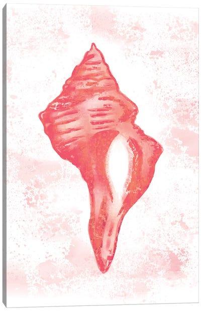 Coral Blush I Canvas Art Print