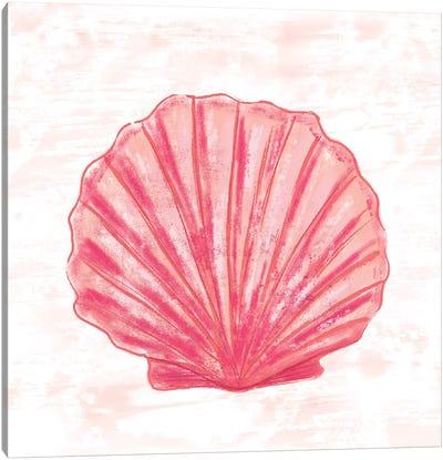 Coral Blush III Canvas Art Print