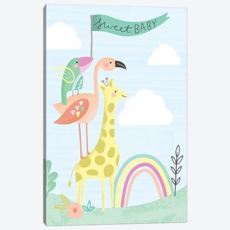 Hello Sweet Baby Canvas Print #LOA21} by Louise Allen Canvas Art Print