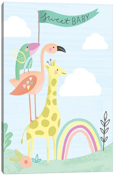 Hello Sweet Baby Canvas Art Print