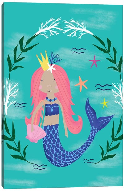 Magical Mermaids Canvas Art Print