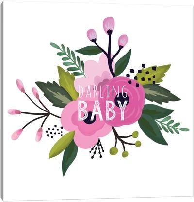 Sweet Baby Girl II Canvas Art Print