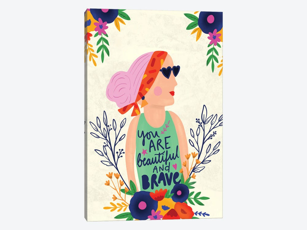 Embrace Who You Are by Louise Allen 1-piece Canvas Print