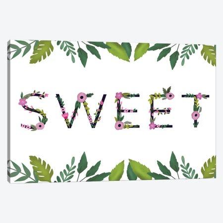 Sweet Baby Girl III Canvas Print #LOA3} by Louise Allen Art Print